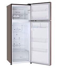 LG 284 Ltr 4 Star GL-T302RASN Double Door Refrigerator - Brown