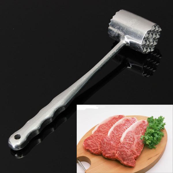 Aluminium Large Meat Mallet Tenderizer Steak Beef Chicken Metal Hammer Kitchen