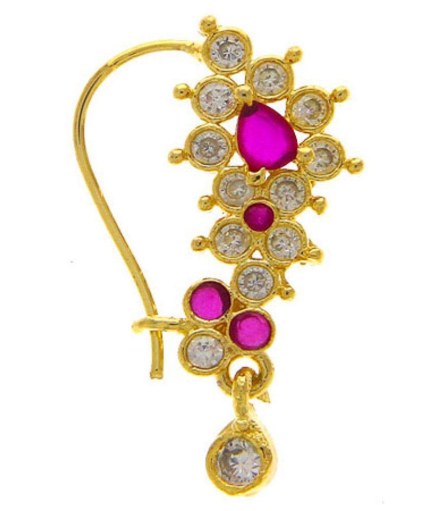 Anuradha Art White Colour Designer Classy Studded Beads Stylish Ethnic Bangles Set for Women//Girls