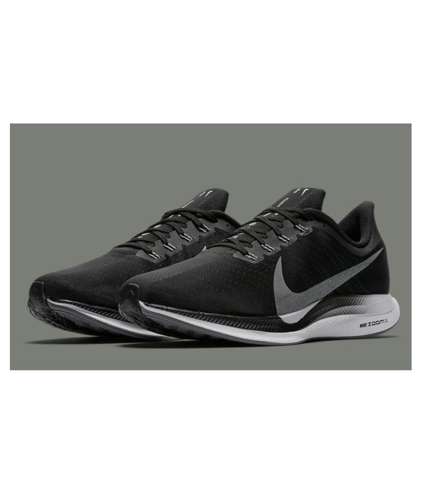 e4b1c6df1 NIKE AIR ZOOM X PEGASUS 35 19MODEL Black Training Shoes - Buy NIKE ...