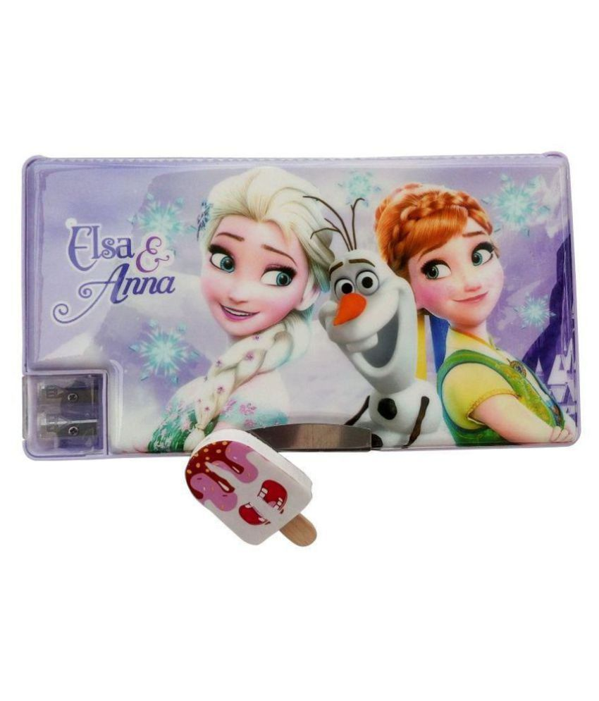 1f5decdbe AshmAadi - Kidz Marketplace Large Pencil Box for Girls Multicolor, Both  side openable, Dual Sharpener with Designer Eraser: Buy Online at Best Price  in ...