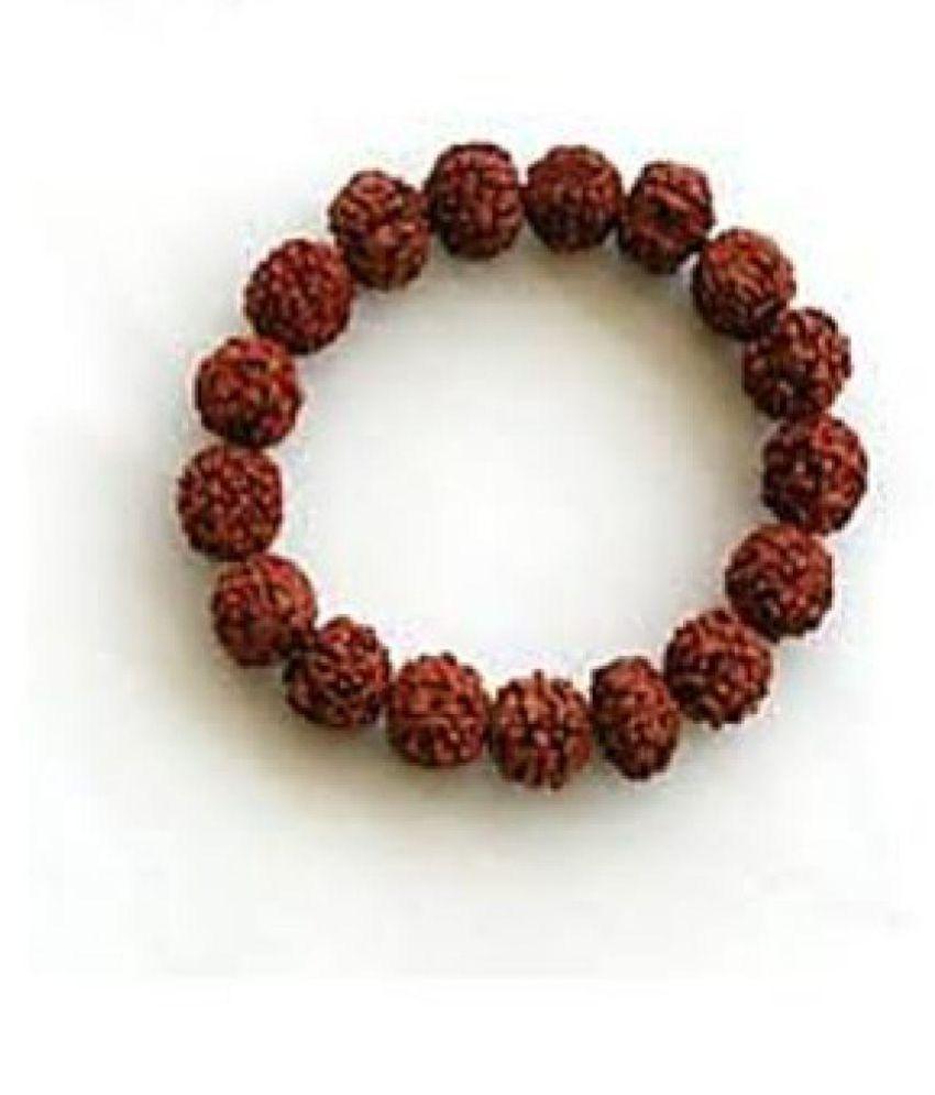 Five Face / 5 Mukhi Rudraksha Bracelet original & Lab certified beads by Jaipur Gemstone