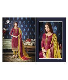 bd7a321738 Cotton Silk Salwar Suits: Buy Cotton Silk Salwar Kameez Online at ...