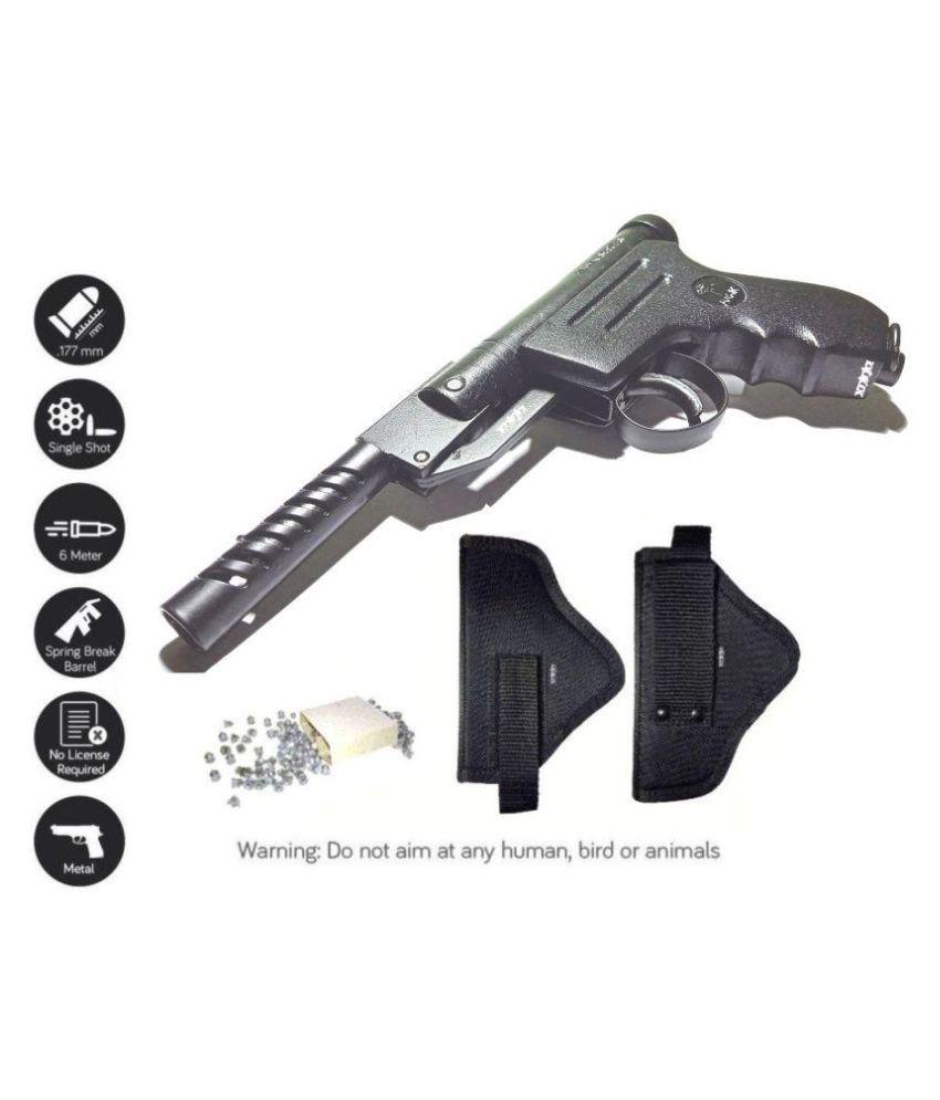 Hawk Metal toy Air gun with 100 bullets Buy Hawk Metal toy Air gun
