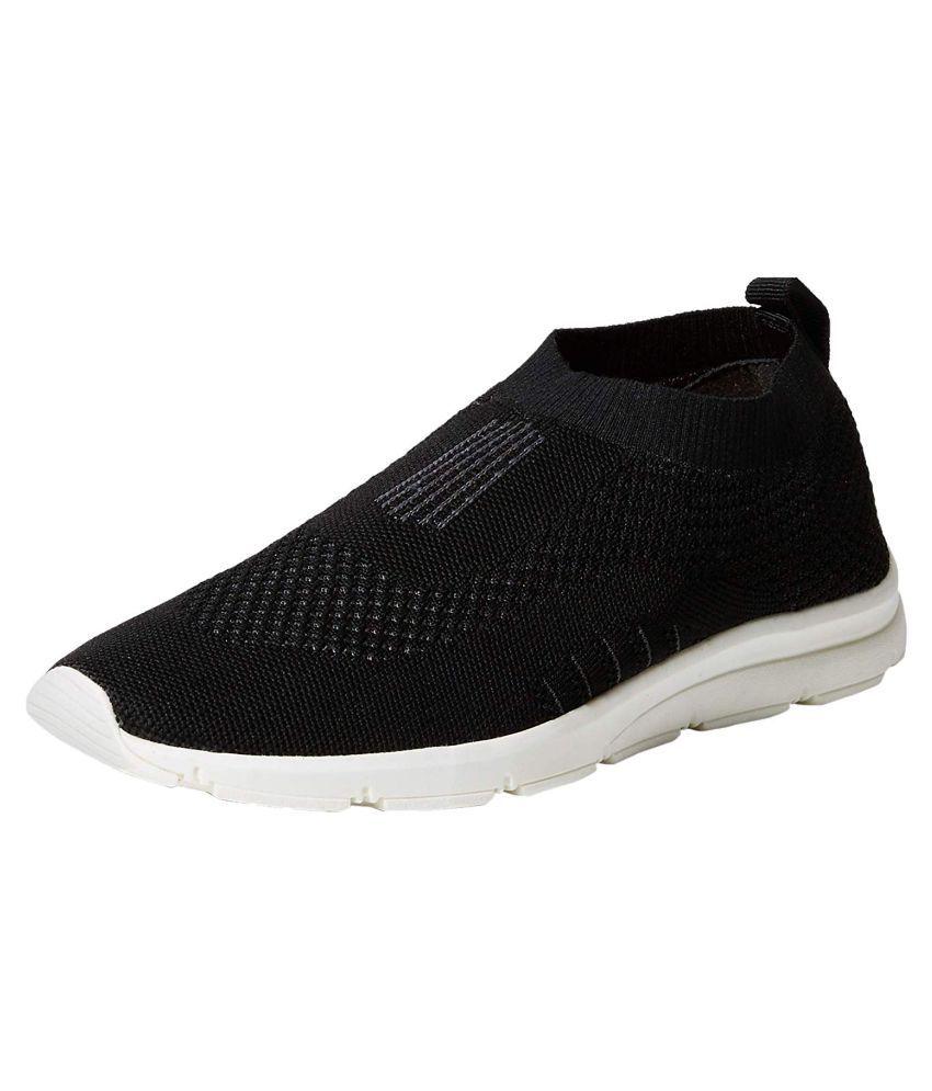 Bourge Men's Vega-1 Black Running Shoes