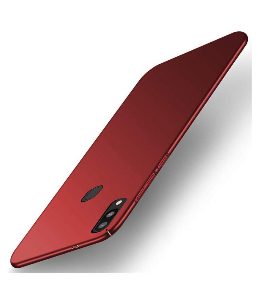 Realme 3 Plain Cases REGLET - Red