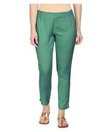 b84a40c4e08db8 Green Pants & Capris for Women: Buy Green Pants & Capris for Women ...