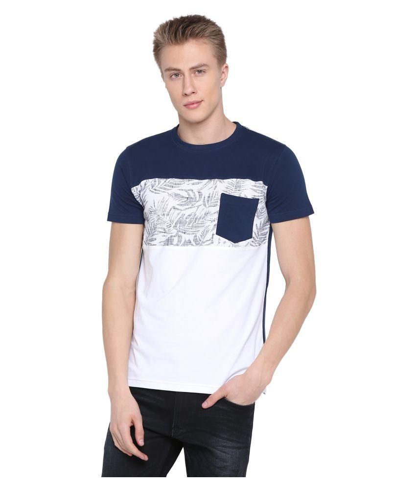 Wexford Navy Half Sleeve T-Shirt