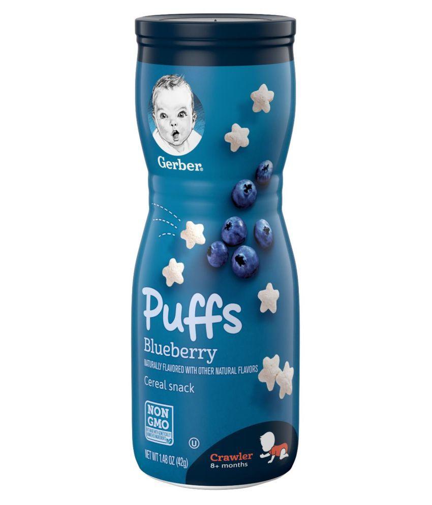 Gerber Blueberry Snack Foods for Under 6 Months ( 42 gm )