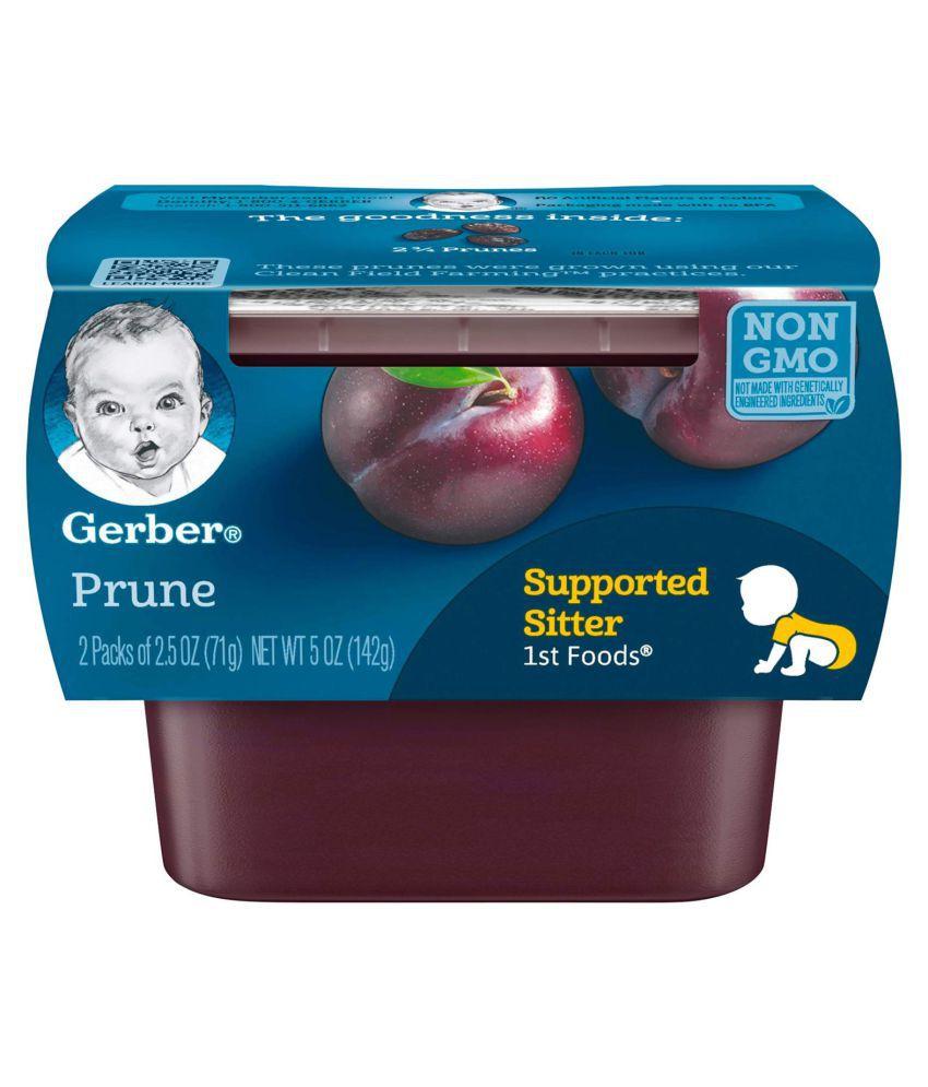 Gerber Prunes Snack Foods for Under 6 Months ( 426 gm ) Pack of 3