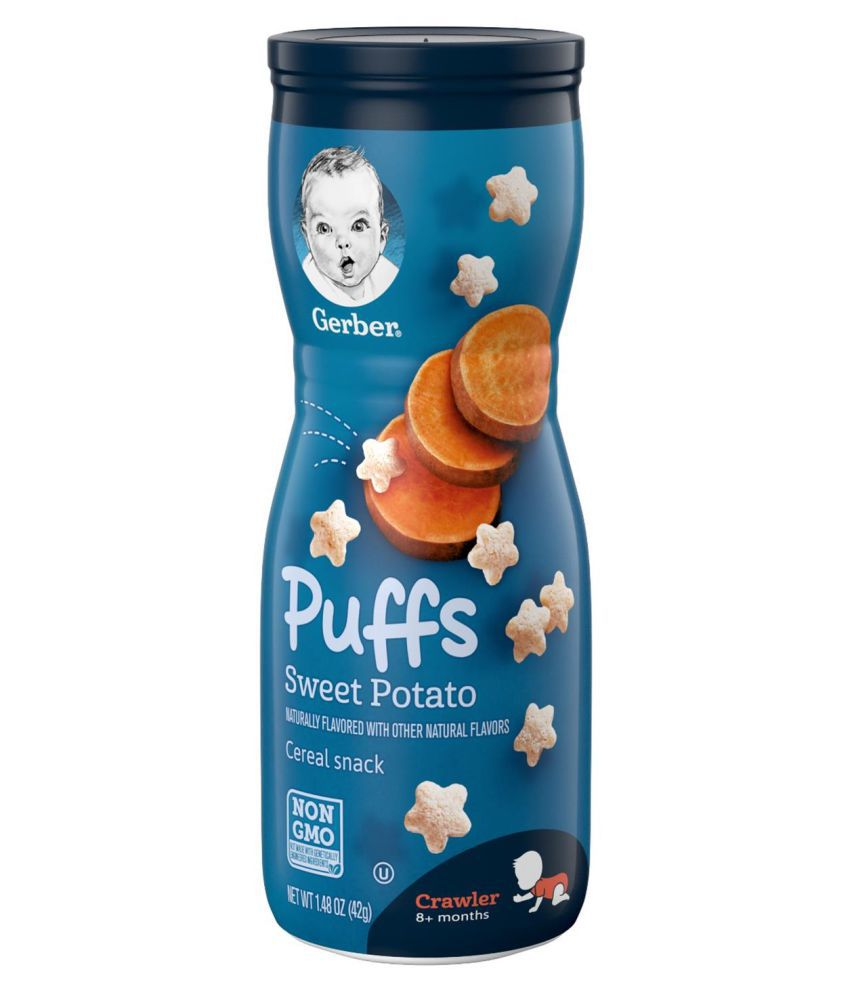 Gerber Sweet Potato Snack Foods for Under 6 Months ( 126 gm ) Pack of 3
