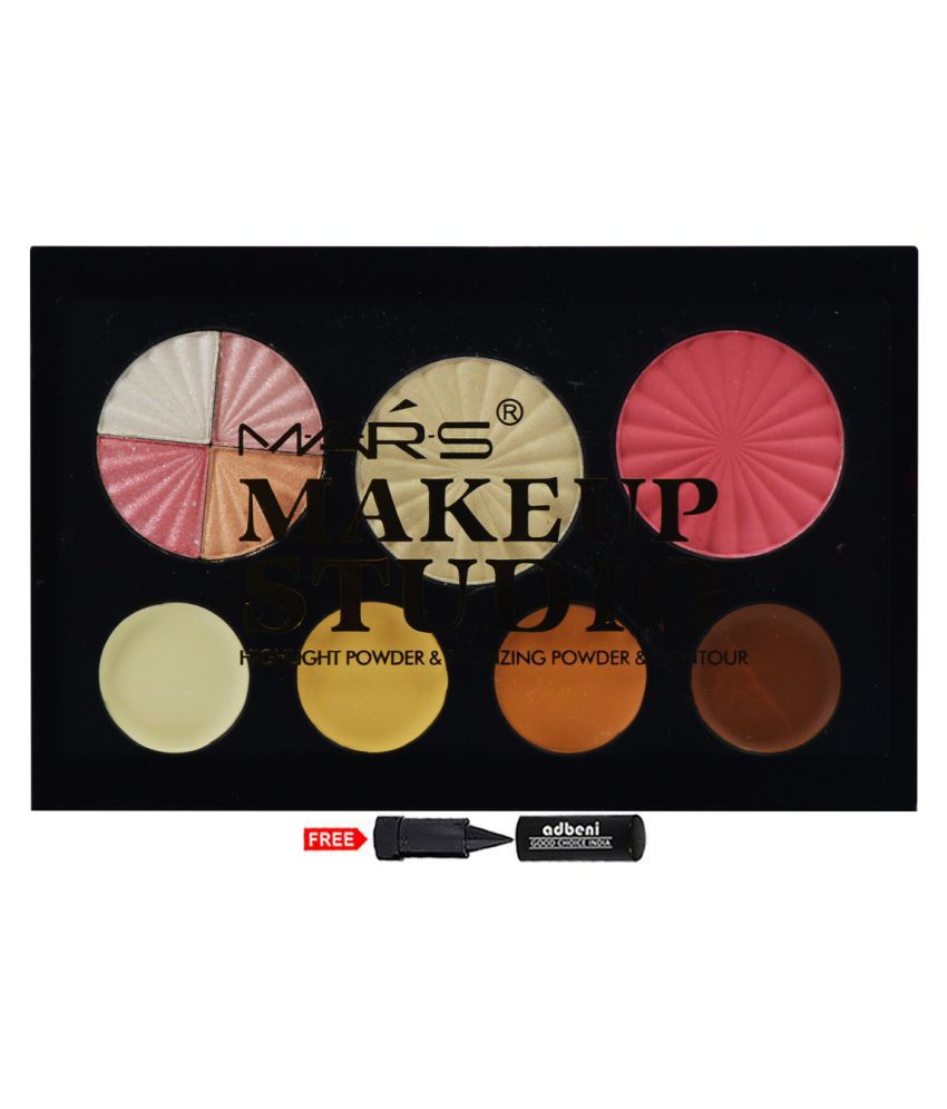 Mars Makeup Studio Highlight Powder & Bronzing Powder Contour Kit