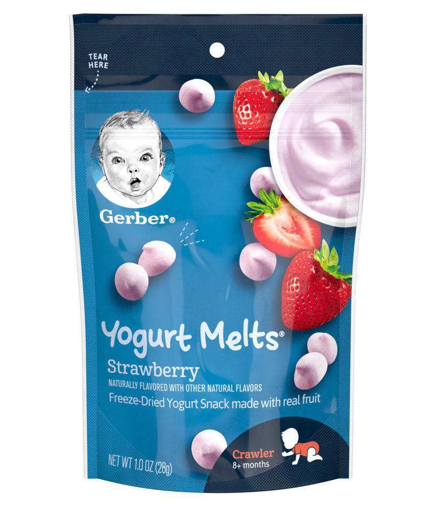 Gerber Strawberry Snack Foods for Under 6 Months ( 28 gm )