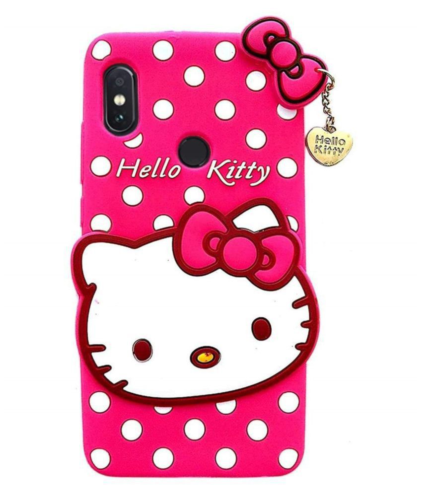 Xiaomi Redmi Note 7 Pro 3D Back Covers By KOVADO 3D Hello Kitty