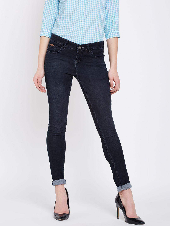Crimsoune Club Cotton Jeans - Black