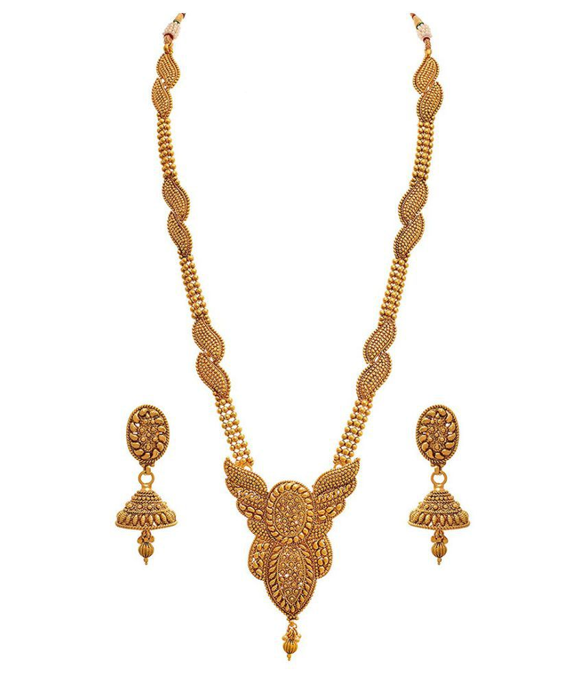 Jfl Jewellery For Less Copper Golden Other Traditional 22kt Gold