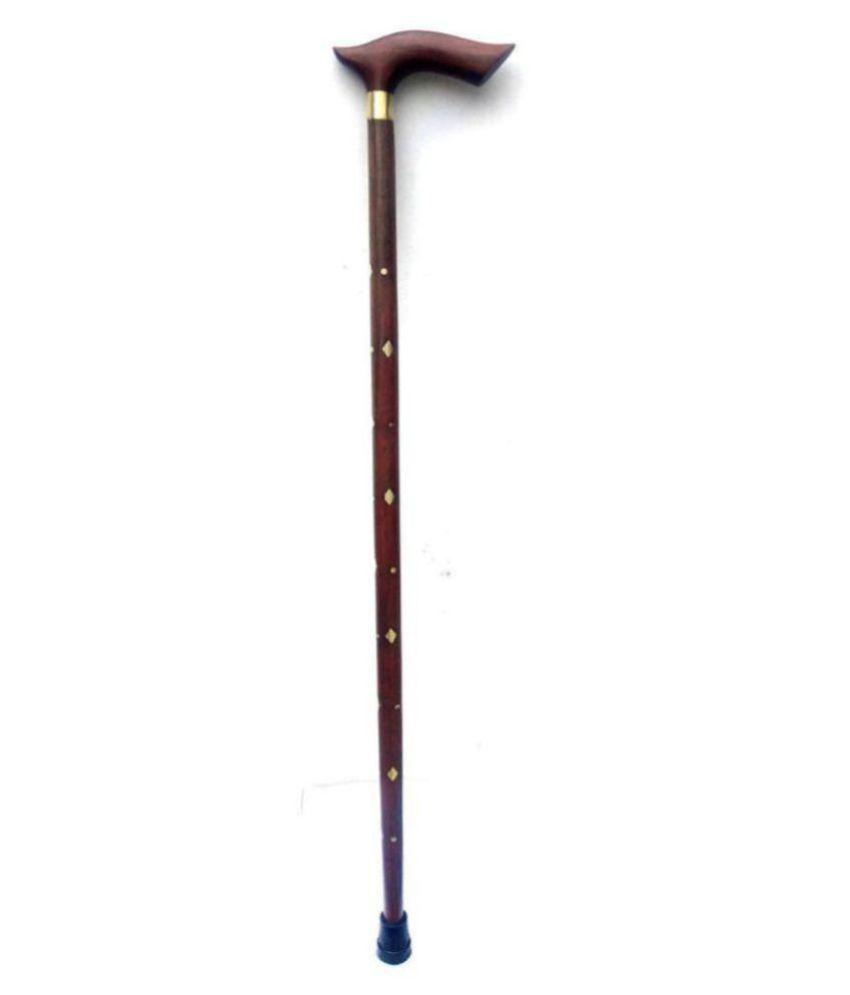 dream value Antique Wooden Handcarved Walking Stick Wood Walking Sticks