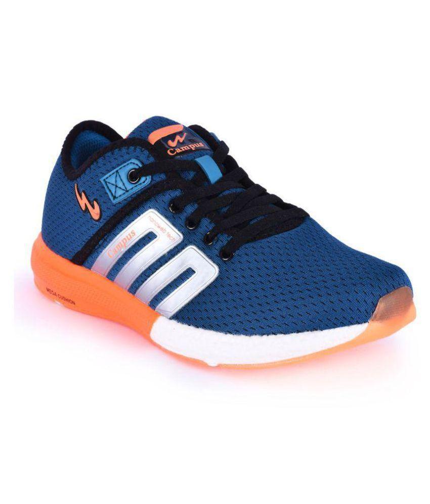 Campus BATTLE Blue Running Shoes