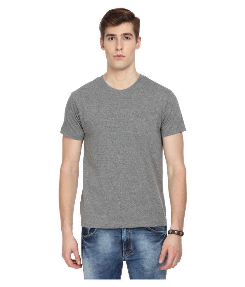 Sharktribe Grey Half Sleeve T-Shirt