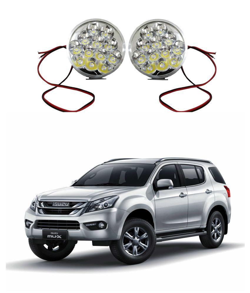 Trigcars Isuzu Mux LED Fog Lamp + Free Car Bluetooth