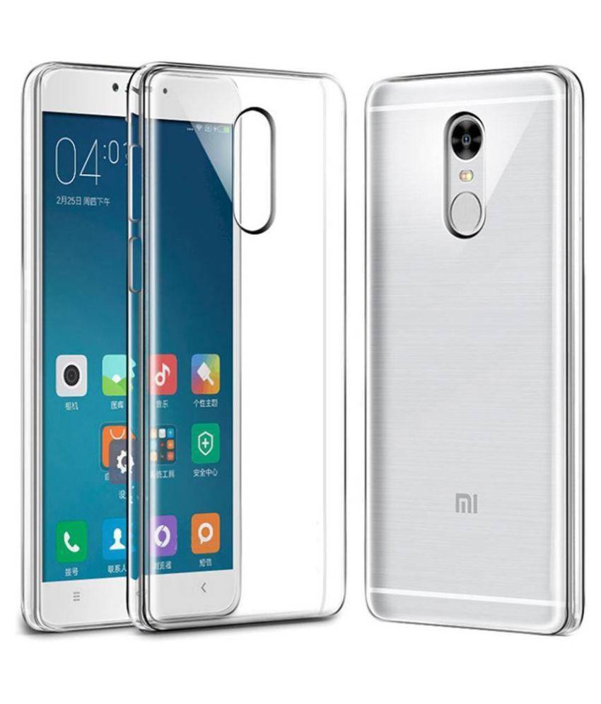 Xiaomi Mi Note 4 Plain Cases Hopsack - Transparent