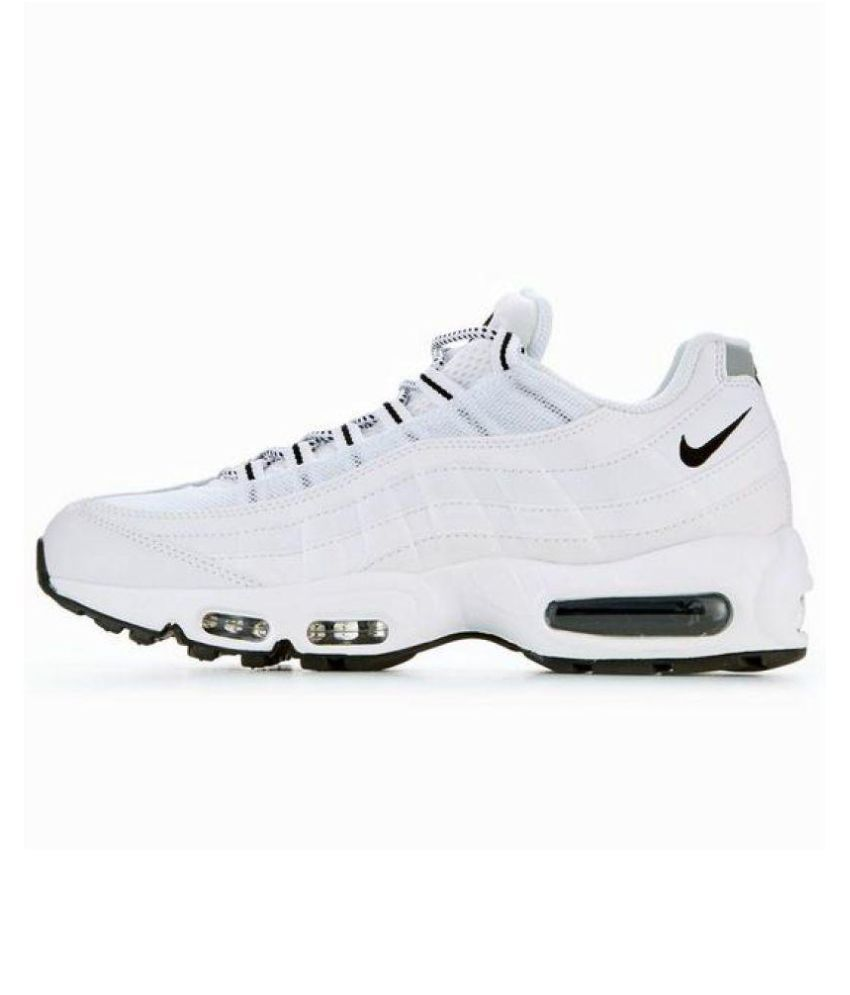 reasonably priced designer fashion shop best sellers Nike Air Max 95 White Running Shoes White