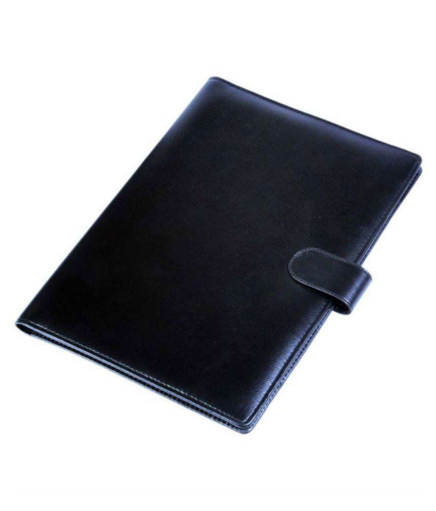 Cosykart Black Leatherite Document Folder
