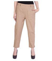 ababdccdd73c53 Beige Pants & Capris for Women: Buy Beige Pants & Capris for Women ...