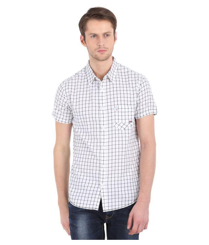 Spykar Cotton Blend Shirt