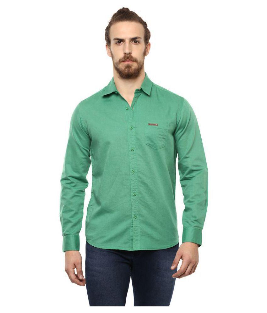 Mufti Cotton Blend Shirt