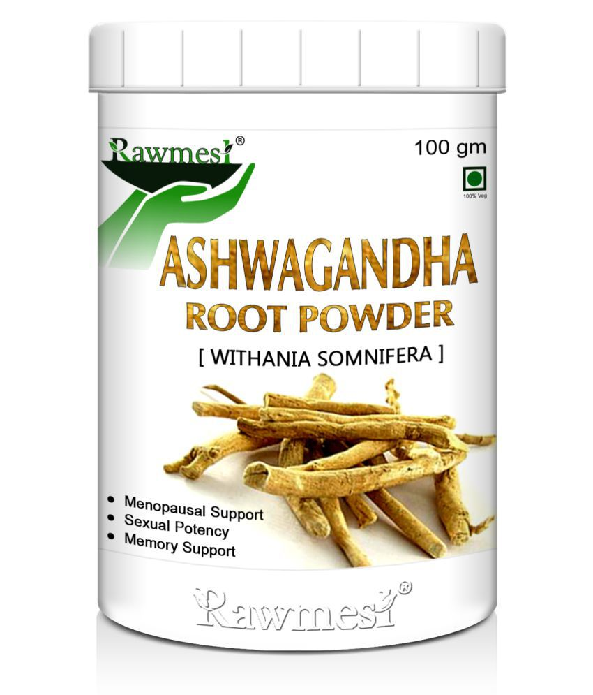 rawmest Organic Ashwagandha Powder 100 gm