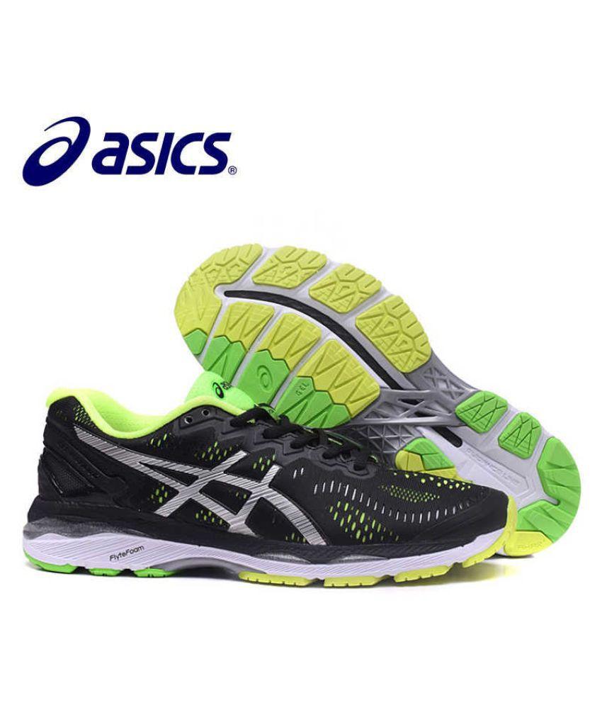 purchase cheap 6acb0 da9d3 ASICS GEL-Kayano 23 Running Shoes For Men (Black) Black Casual Shoes