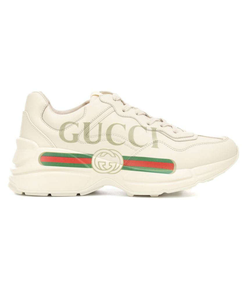 Gucci Tan Basketball Shoes
