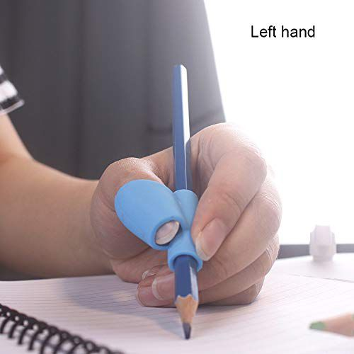 Children Pencil Holder Pen Writing Aid Grip Posture Correction Tool, 5pcs