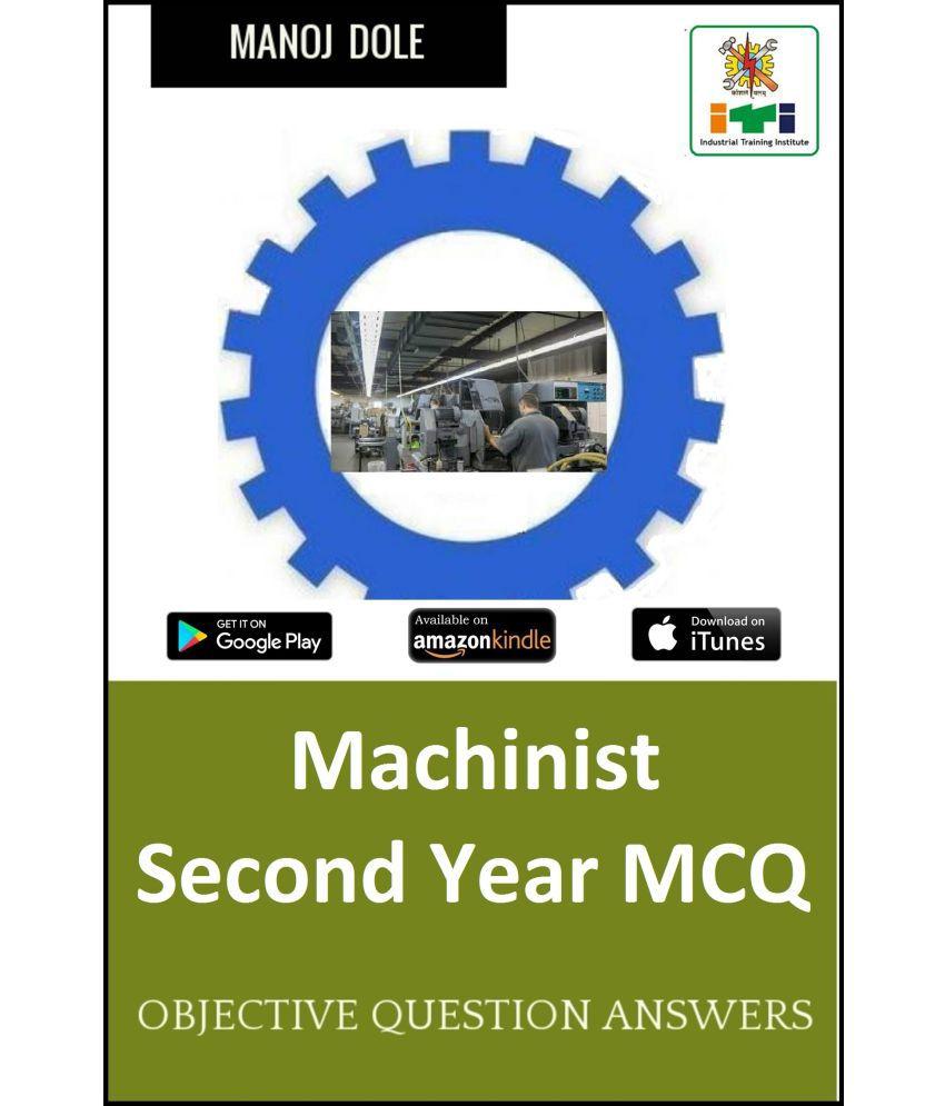 Machinist Second Year MCQ