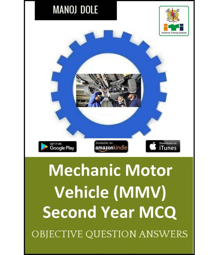Mechanic Motor Vehicle Second Year MCQ