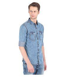 3f4b3100 Denim Shirt: Jeans & Denim Shirts For Men UpTo 77% OFF - Snapdeal.com