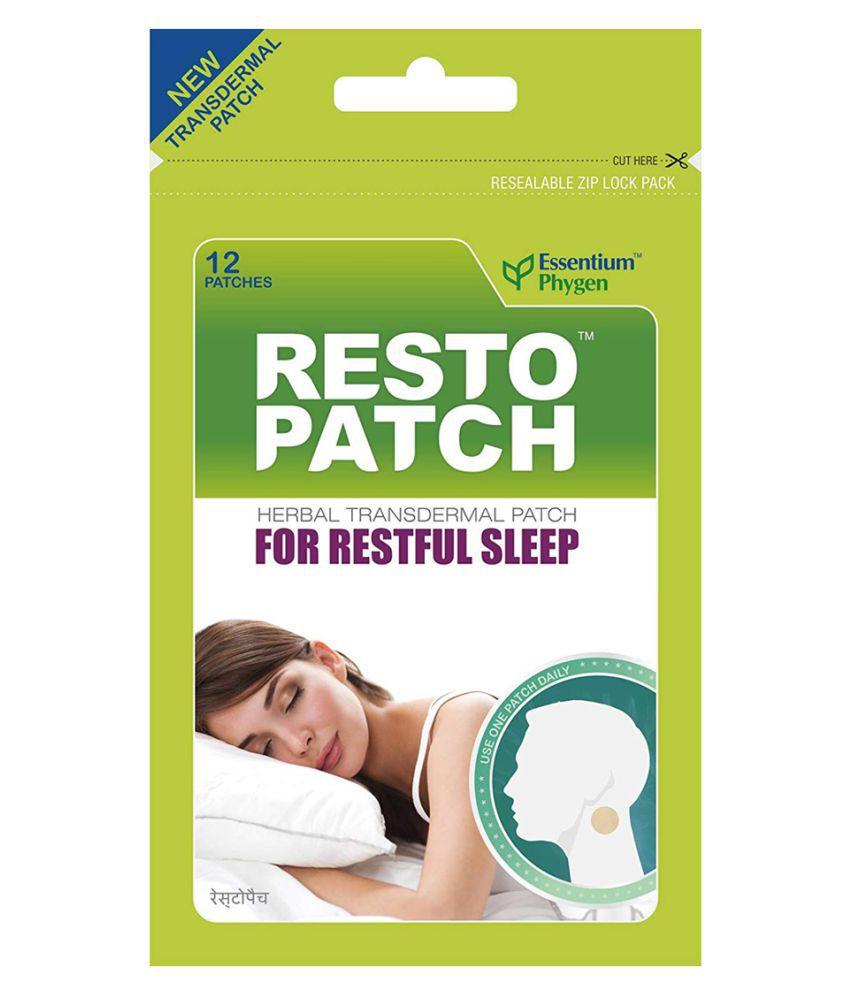 Essentium Phygen Restopatch 100% Natural Sleep Patch Paste 12 no.s Pack Of 1