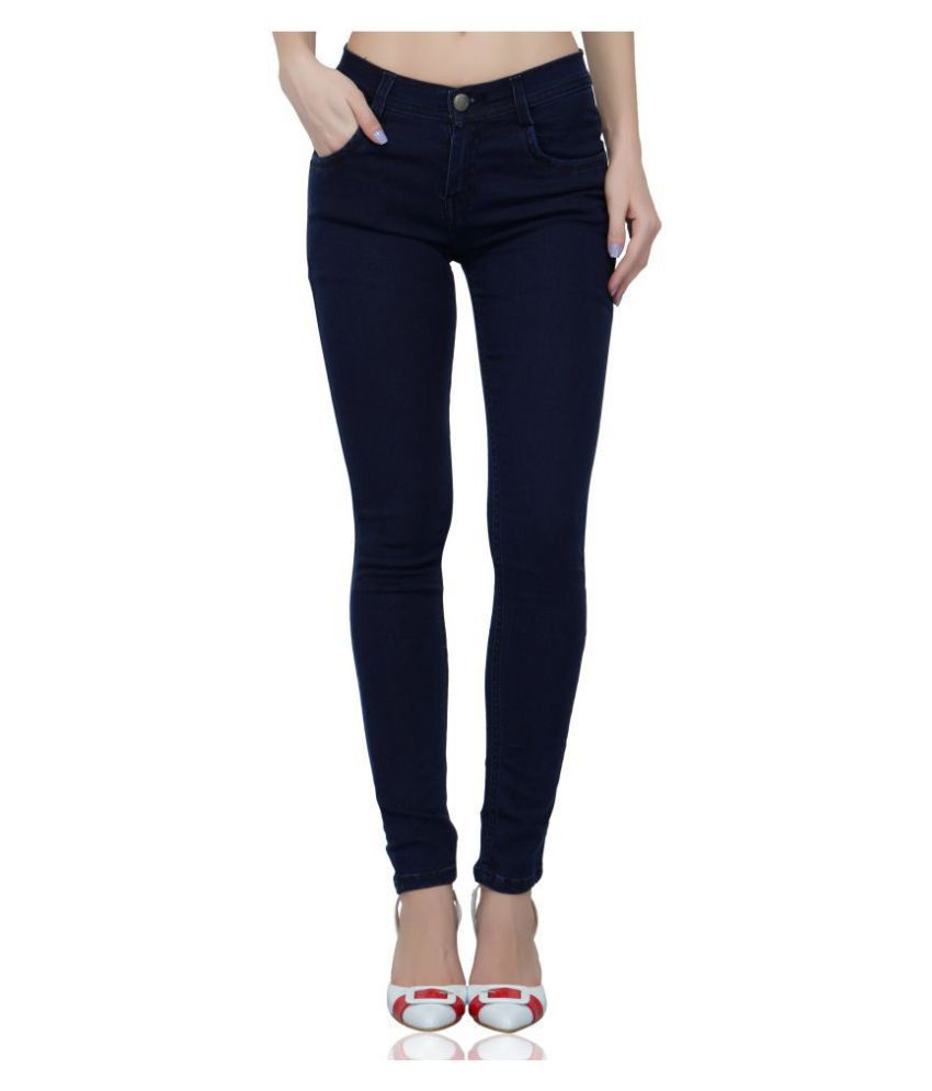 Luxsis Denim Lycra Jeans - Blue