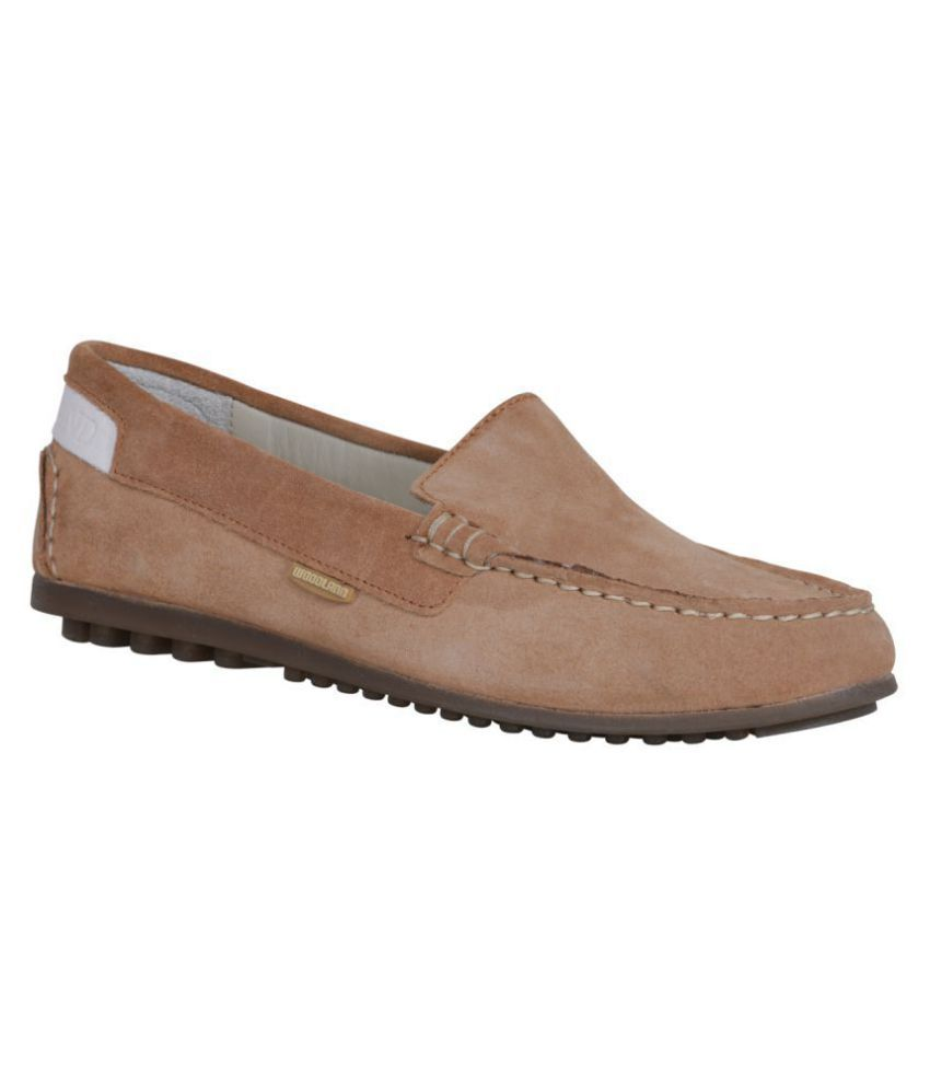Woodland PeachPuff Casual Shoes