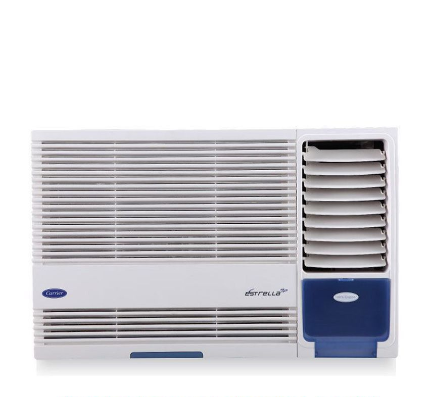 Carrier 1 Ton 3 Star Estrella 3S R410 A Window Air Conditioner White 2016 17 BEE Rating