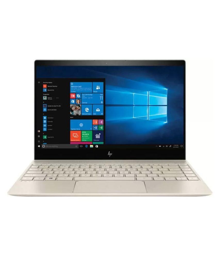 HP Envy 13-ad125tu Notebook Core i5 (8th Generation) 8 GB 33 78cm(13 3)  Windows 10 Home without MS Office Not Applicable GOLD