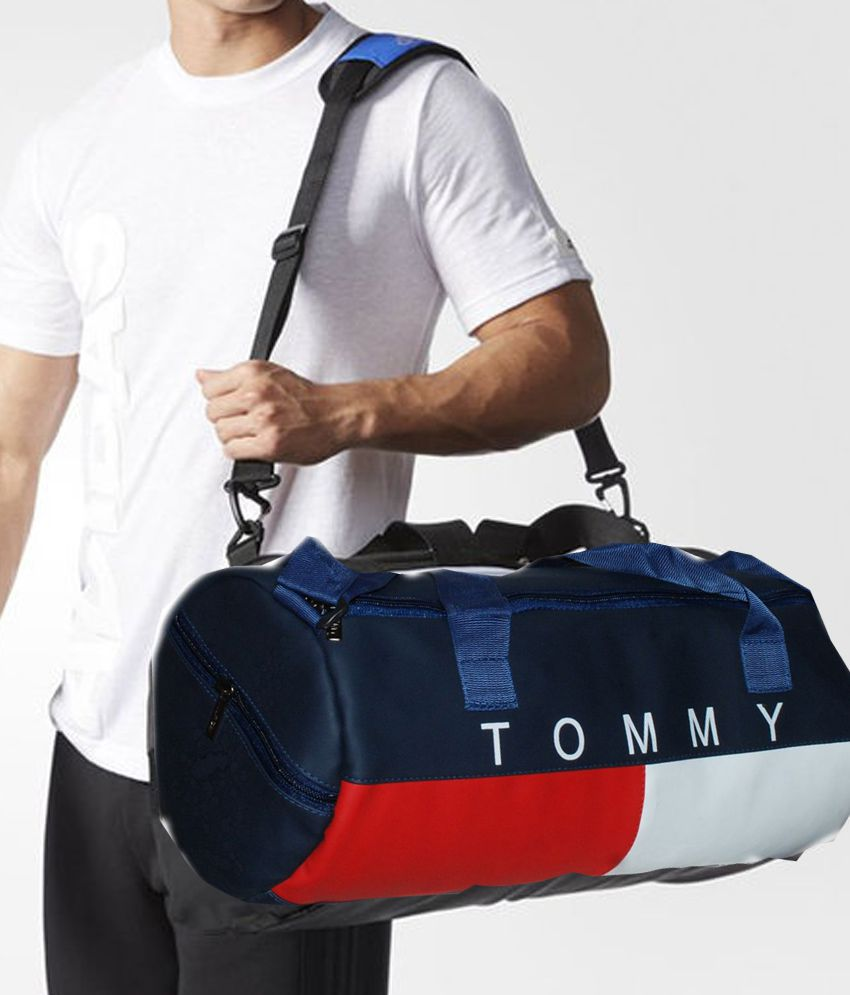 a06107e60f7 Tommy Hilfiger Medium P.U Leather Gym Bag Men Gyms Bags Shoulder Bag Travel  Bag For Men & Women Low Price Men Side Bag Cross Bag Leather Bag - Buy Tommy  ...