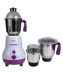 Quba MG-104 600 Watt 3 Jar Mixer Grinder