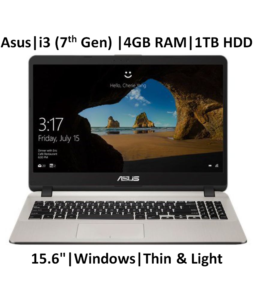 ASUS X507UA- EJ313T ( Core i3-7th Gen /4 GB/ 1TB HDD / 15.6
