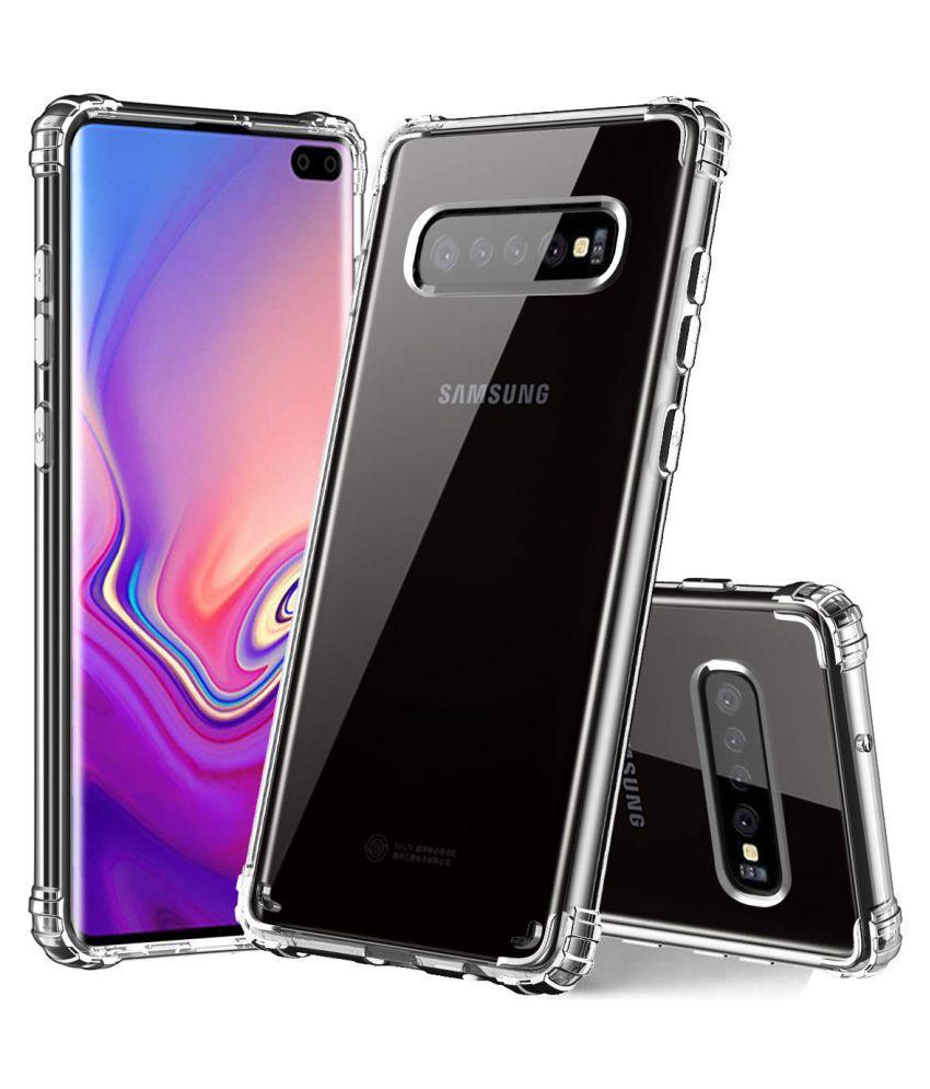 Samsung Galaxy S10 Shock Proof Case KLIXX - Transparent High Quality Case