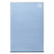 Seagate 2TB Backup Plus Slim Portable External Hard Drive with 3 Offers Inside (Light Blue) 2019 Edition