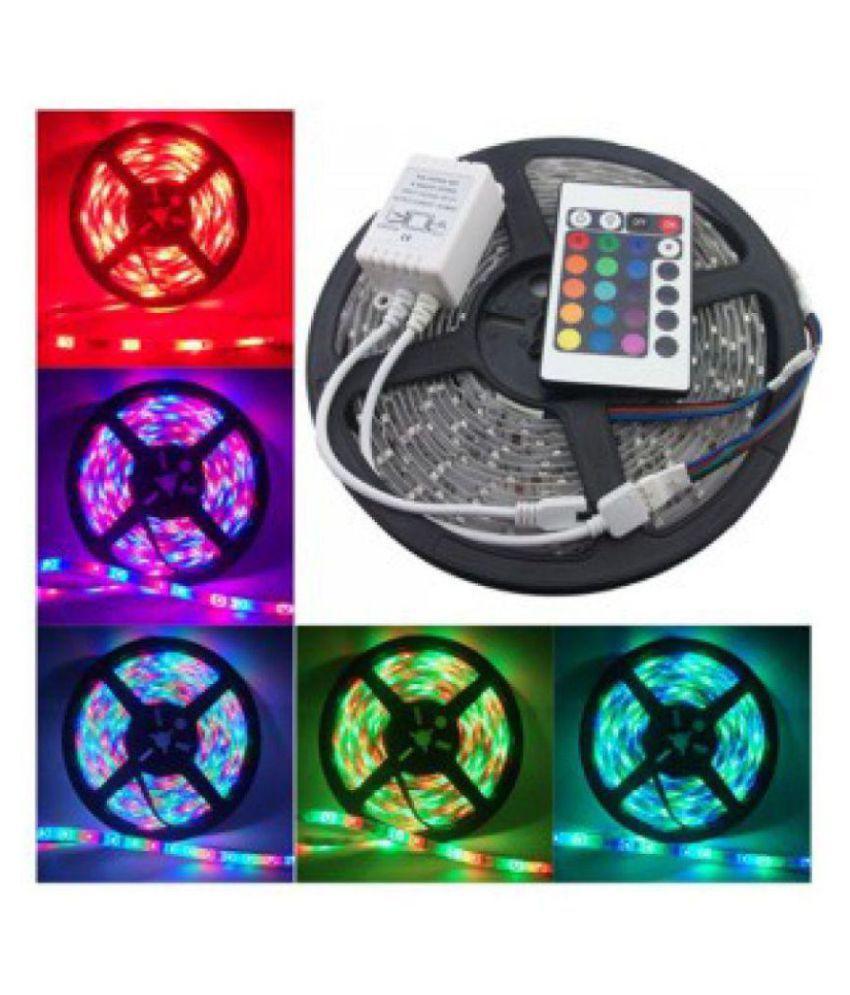Lamps of India Multi LED Strip Light 5 Meter - Pack of 1