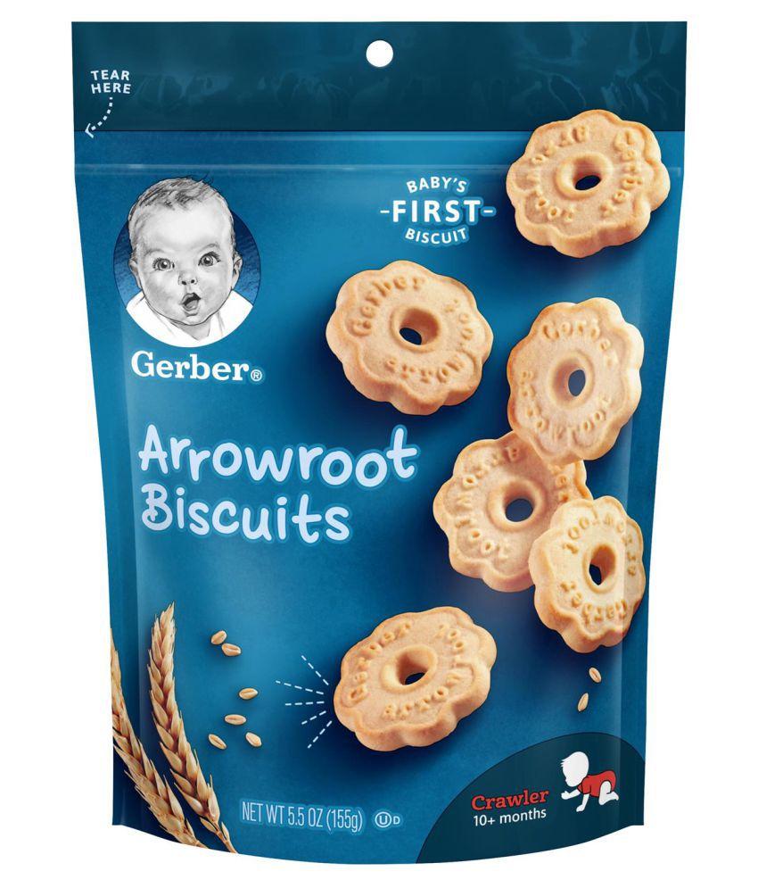 Gerber Arrowroo Snack Foods for Under 6 Months ( 155 gm )