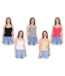 KETEX Cotton Lycra Camisoles - Multi Color